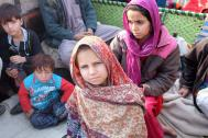 IOM assists Afghan children returnees at a transit center. Photo: IOM 2016