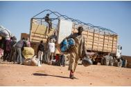 Nigerian returnees from Algeria at an IOM Transit Center in Agadez, Niger. Photo: IOM/Amanda Nero 2016