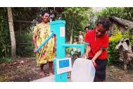 IOM and the EU provide drinking water, health promotion, and agriculture recovery to more than 90,000 people in rural Hela, Enga, Jiwaka and Simbu provinces.  Photo: IOM 2016