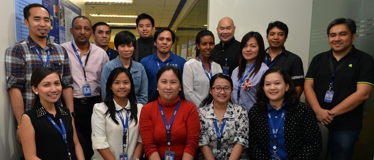 IOM Global Teleradiology and QC Centre Team. © IOM 2016