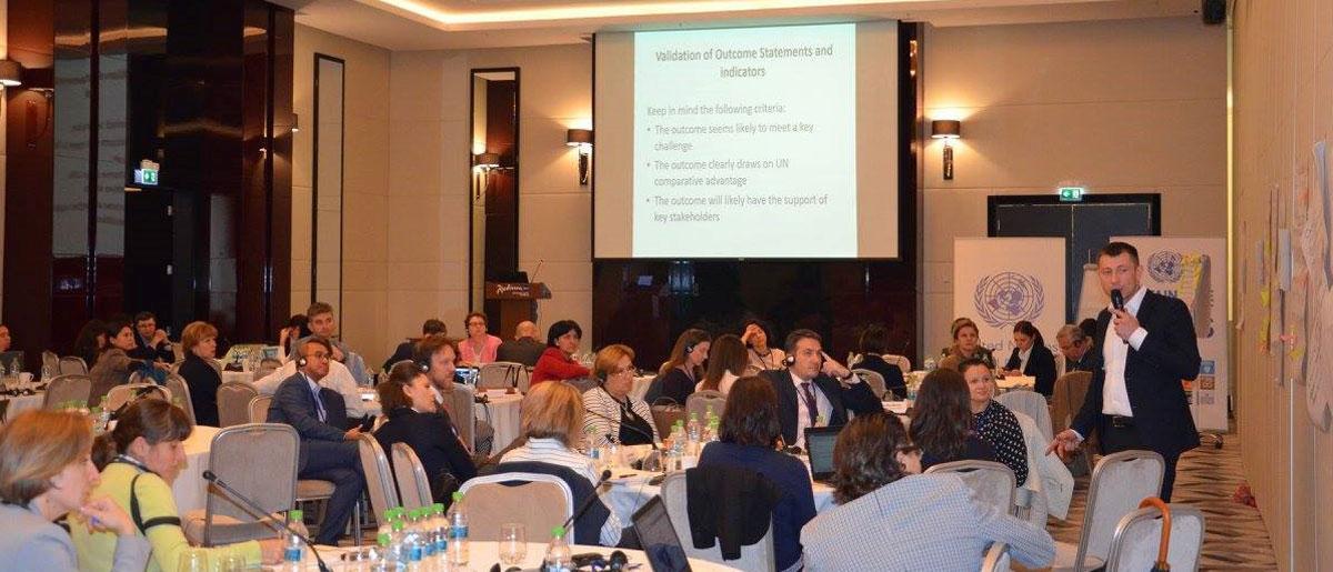 Strategic Prioritization Retreat for 2018 2022 UNDAF Moldova, September 2016