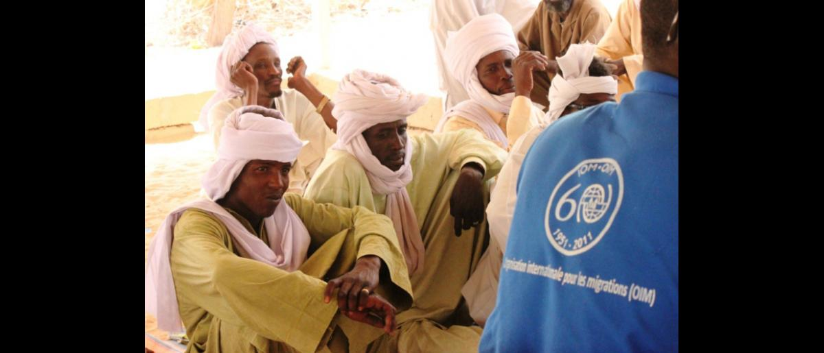 Chadian men used to work predominantly in the construction and agriculture sectors while in Libya. They express their wish to continue working in the same sectors at home, but they ask for support in finding these jobs. © IOM 2012