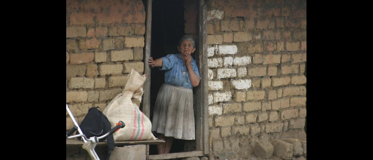 The Colombian rural and peasant communities have been the most affected by the violence.  According to the most recent report from the National Center for Historic Memory, in the past 50 years more than 220,000 people have died, some 180,000 civilians. © IOM 2005