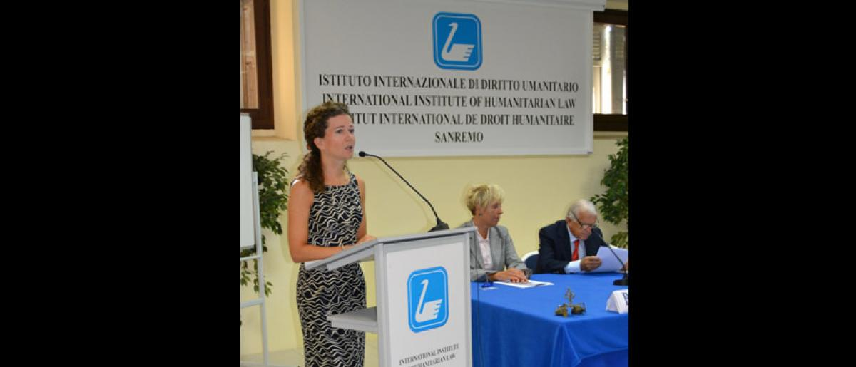Course opening. Speaker: Dr. Kristina Touzenis, Head, International Migration Law Unit (IML), Department of International Cooperation and Partnerships, IOM