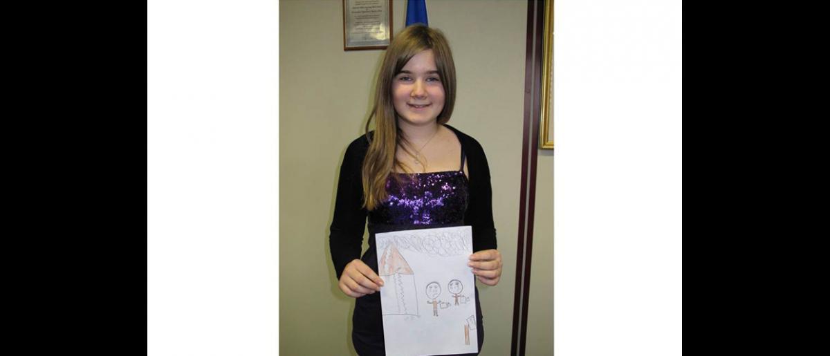 Joana 12 años La ganadora